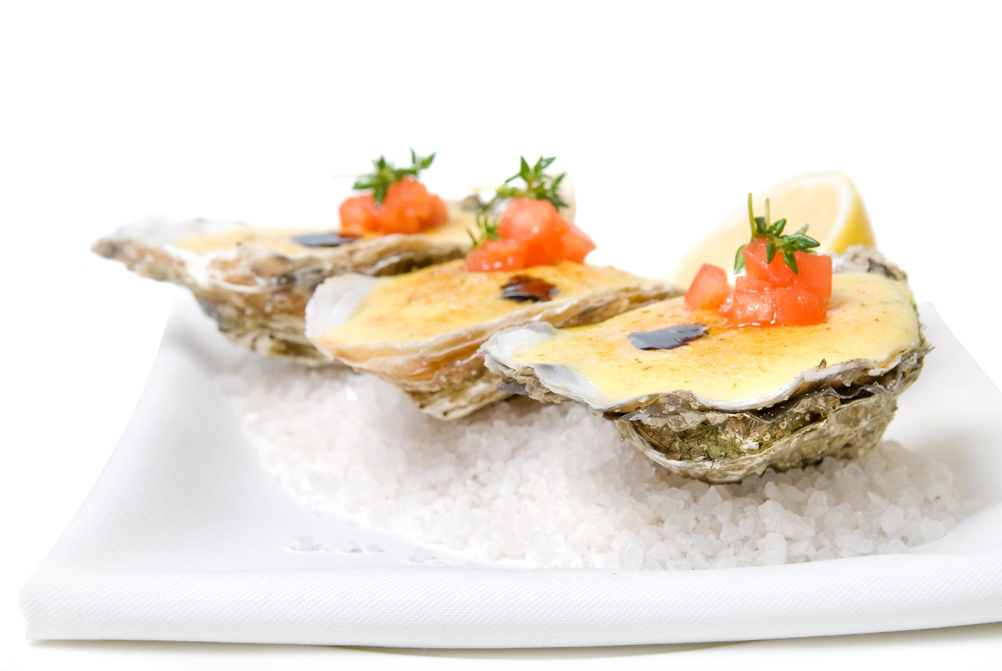 Гратинирани стриди (Оysters au gratin)